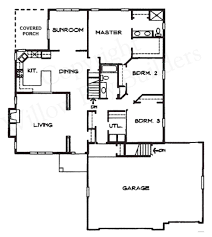 split bedroom design floor plans