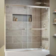 Whirlpool Tubs You U0027ll Love Wayfair Waagee Bath Tub Shower Door Framed 1 4 Marvelous Bathroom Tub