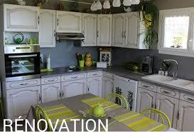 renover meubles de cuisine renovation meuble cuisine le bois chez vous