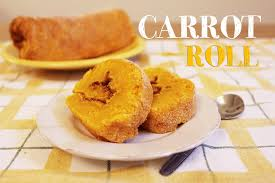 how to make a carrot roll cake youtube