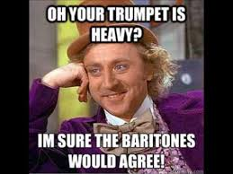 Drum Major Meme - this one time at band c a marching band randomness book