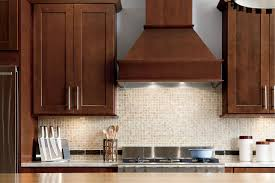 Kitchen With Mosaic Backsplash by Furniture Elegant American Woodmark With Mosaic Tile Backsplash