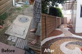 Pebbles And Rocks Garden Cool Pebble Rock Garden Designs Ideas Best Ideas Interior