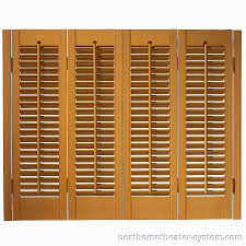 faux wood shutters 7 best home theater systems home theater