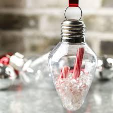 acrylic fillable light bulb ornaments ornament