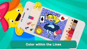pic pen coloring book educational game for kids android apps on