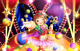 cinderella producers card sr kudo shinobu happy magician