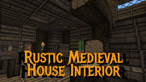 minecraft gundahar tutorials rustic medieval house interior