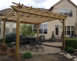 How To Build A Pergola Roof by Pergola Etsy