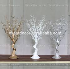 tree centerpiece gold plastic tree centerpiece for decoration beautiful