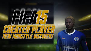 fifa15 new hairstyle discovery created players youtube