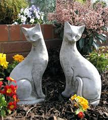 animal garden ornaments exhort me