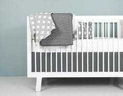Black And White Crib Bedding Sets Grey And White Baby Bedding Gray And White Nursery Bedding Grey