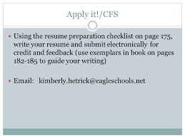 Resume And Job Application by Learning Targets Cfs Determine When To Use Different Resume Styles