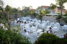 California Backyard Fresh Fun Wedding With Backyard Reception California Backyard