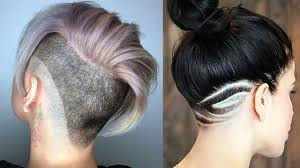 undercut haircut and hairstyle for women new hair tattoo for