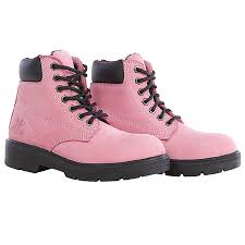 womens safety boots canada 6 pink industrial waterproof work boot for