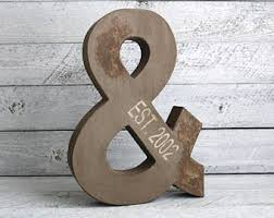 Letters For Home Decor 8 Faux Reclaimed Wood Letters Metal Letters Wooden