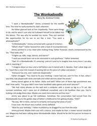 reading comprehension test for grade 5 fifth grade reading comprehension fifth grade comprehension
