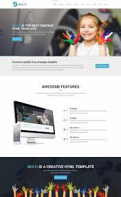 free responsive html templates 70 best one page website templates free premium freshdesignweb