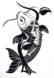 tatoo design tribal tribal koi fish tattoo design by nikolai bartolf tattoo