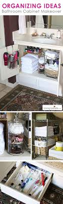 how to organize small bathroom cabinets bathroom organization ideas before and after photos