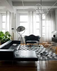 Black And White Modern Rug by Designs Ideas Open Plan Home With Modern Kiving Area And Modern