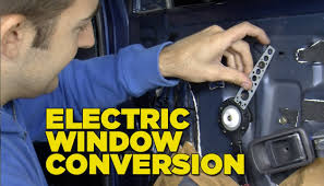 electric window conversion youtube
