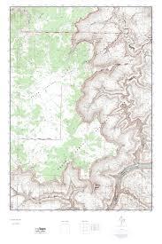 Arizona Topographic Map by Mytopo Kanab Point Arizona Usgs Quad Topo Map