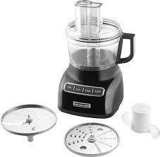 kitchen aid food processor kitchenaid kfp0711ob 7 cup food processor black kfp0711ob best buy