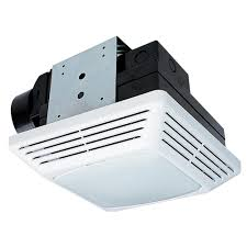 Bathroom Ventilation Fan With Light Nutone 50 Cfm Ceiling Exhaust Bath Fan With Light 763n The Home