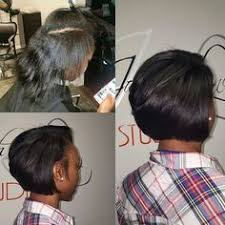 relaxed short bob hairstyle short layered bob haircuts for black women beautiful healthy