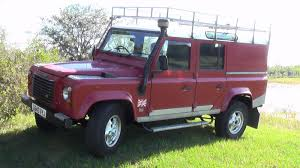 land rover purple 110 1990 tdi 200 used land rover defender for sale in clermont