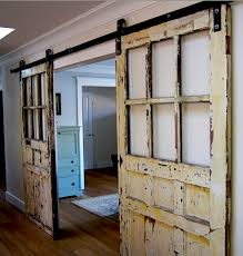Erias Home Designs Top Of Door Sliding Barn Door Hardware by Barn Doors With Glass Image Collections Doors Design Ideas