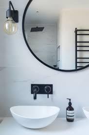 Decorate Bathroom Mirror Black Bathroom Mirror Bathroom Design And Shower Ideas