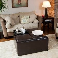 coffee table square tufted ottoman round ottoman with shelf low