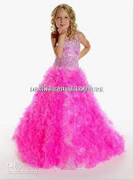 pink ball gown little pageant red carpet dresses princess
