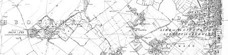 Map Of Kent England by 1877 Map From Northbourne To Deal Kent England