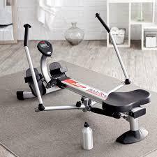 stamina 1050 body trac glider rowing machine hayneedle