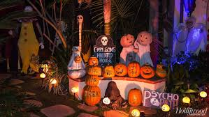 images of halloween decorated houses best la homes with halloween decorations hollywood reporter