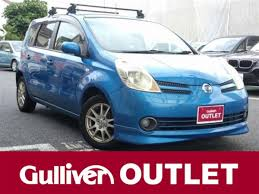 2007 nissan note 15m shine ed navi hdd used car for sale at