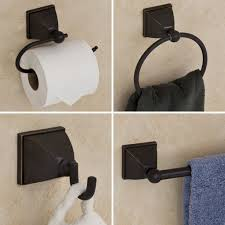 Bathroom Hardware Sets Oil Rubbed Bronze Best 25 Bathroom Accessories Sets Ideas On Pinterest Industrial