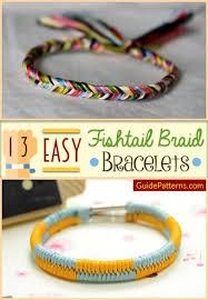 easy bracelet images 13 easy fishtail braid bracelets guide patterns jpg