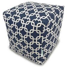 Ottoman Cube Poufs Ottomans Cushions Majestic Home Goods