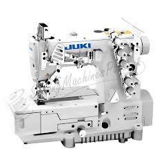 juki mf 7523 3 needle coverstitch industrial machine w table