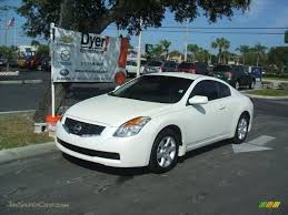 nissan altima coupe sports car 2008 nissan altima 2 5 s coupe in winter frost pearl 215662
