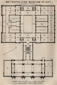 met museum floor plan metropolitan museum of art upper floor new york baedeker small
