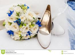 wedding preparation for bridal shoes veil and wedding bouquet stock images image 31096474