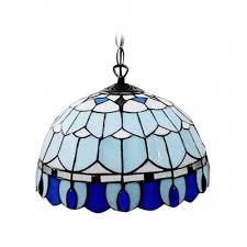 Blue Light Fixture Fashion Style Large Pendants Beautifulhalo