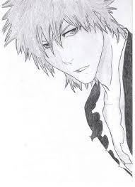 bleach character sketch anime amino